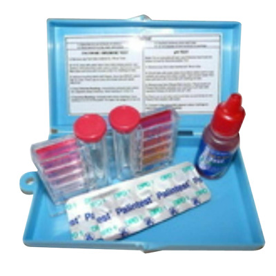 2in1 Swimming Pool & Spa Water Test Kit 2 in 1 Chlorine/Bromine & PH
