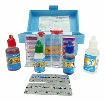 4in1 TEST KIT - Swimming Pool & Spa Water Professional Test Kit