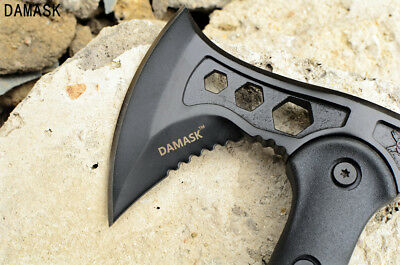 Damask Outdoor Exploration Axe Needle-Tailed Camping Hiking Practical Axe