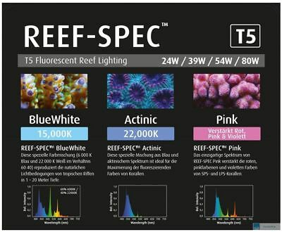 Reef Spec BlueWhite 15000k 54W T5 1149mm Red Sea
