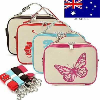 Thermal Cooler Insulated Lunch Box Portable Carry Tote Picnic Storage Bags Case