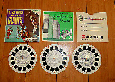 Land Of The Giants Viewmaster Reels 1968 Vintage Set B494 Rare   (559)