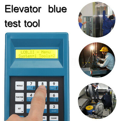 Elevator Lift Escalator Conveyor Server Test Tool Blue For XIZI
