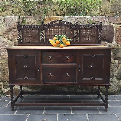 Beautiful Antique / Vintage Jacobean Oak  Buffet / Sideboard