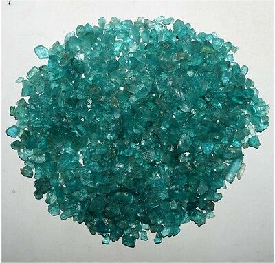 50 Ct NATURAL RAREST QUALITY BLUE APATITE ROUGH WHOLESALE LOT LOOSE GEMSTONE