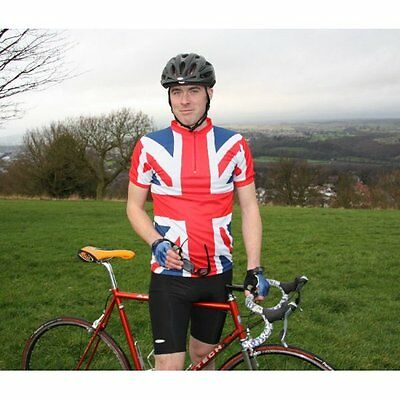 Union Jack Cycling Top