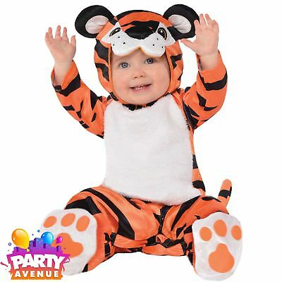 Tiny Tiger Baby Toddlers Nature Fancy Dress Costume  0-6months