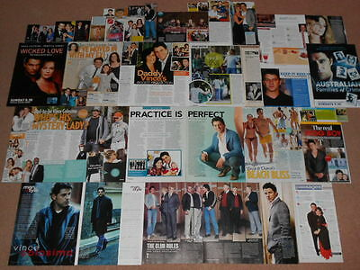 40- VINCE COLOSIMO Magazine Clippings