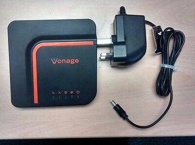 Vonage VDV23-VU VOIP Adapter for analogue telephones