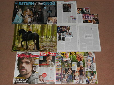 10+ PETER DINKLAGE Magazine Clippings