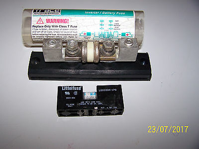 Trace engineering  Inverter/Battery Fuse + Littlefuse #L60030M-1PQ