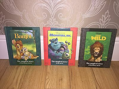 Bambi, Monsters Inc And The Wild Disney Books