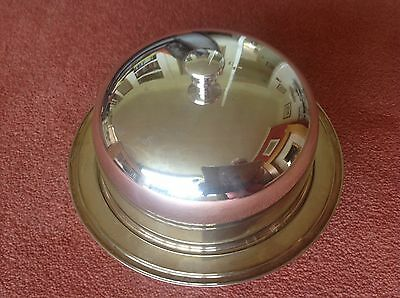 Vintage Mappin and Webb silver plated muffin dish