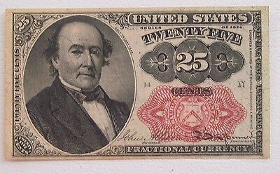 25¢ Fifth Issue Fractional Currency