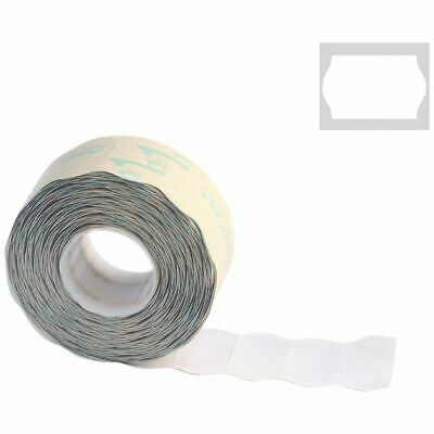 Bulk Buy - 3 x Meto 2 Line Series Alpha Labels Removable White 5 Pack