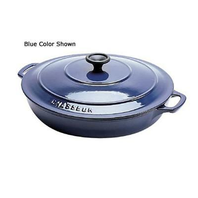 World Cuisine - A1737130 - Chasseur 3 qt Blue Rondeau Pan