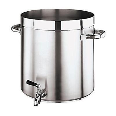 World Cuisine - 11102-28 - Grand Gourmet 17 1/2 qt Stainless Steel Stock Pot