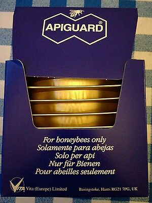 Apiguard  10 trays for treatment of varroa