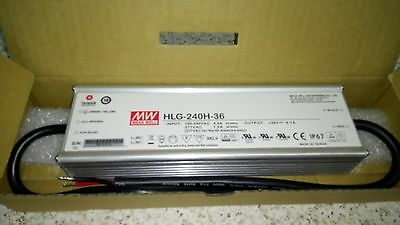 MEAN WELL  HLG-240H - 36 241.2W 36VDC power supply.