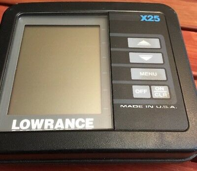 Lowrance X25     Head Unit Only.