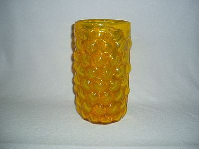 Blenko Glass Bubble Wrap Jonquil 6046 Vase Husted Design..FREE U.S. SHIPPING!