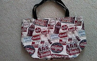 Coca Cola Large Shoppers Tote Hand Bag NEW