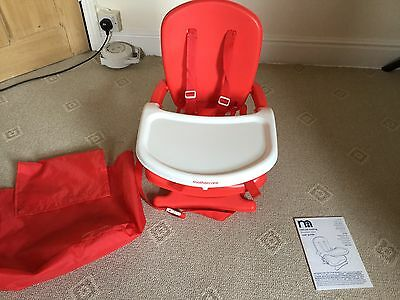 Mothercare Deluxe Folding Booster Seat For Use At A Table