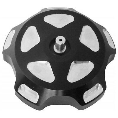 ModQuad Anodized Gas Cap with Breather Valves | Black Pockets | GC1-700-PBLK
