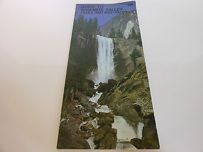 Rare - Guide to Yosemite Valley - Trails and Bike Paths - 1985
