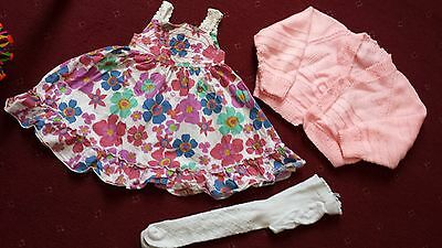 Baby Girl Bundle 9-12 Months 3 Items