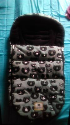 Limited edition Donna wilson footmuff 3 bears mamas and papas