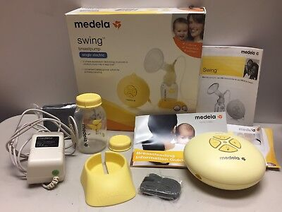 MEDELA SWING REPLACEMENT MOTOR with box & other parts (NO PUMP KIT)