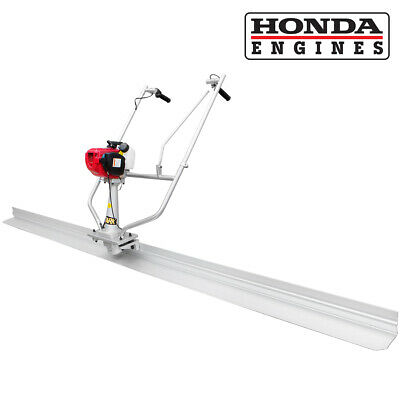 Surface finishing concrete screed w/ Honda 4 stroke Gas engine 10' tamper blade