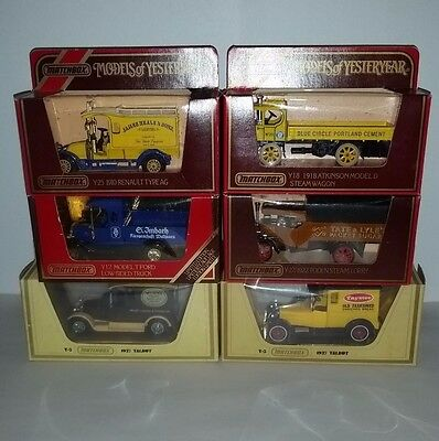 Models of Yesterday bulk lot 6 Matchbox diecast vehicles see all photos