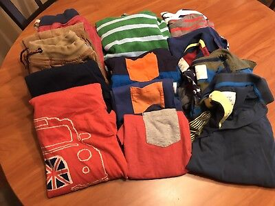 Boy's Mini Boden Fall & Winter Clothes Lot 9-10Y & 11-12Y Shirts Pants Sweaters