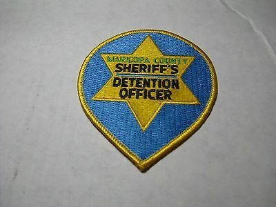 Maricopa County, Az. Detention Officer Shoulder Sheriff Dept.patch