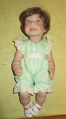 "Lee Middleton Summer Birthday Baby Vinyl Doll - 16"" - IOB"