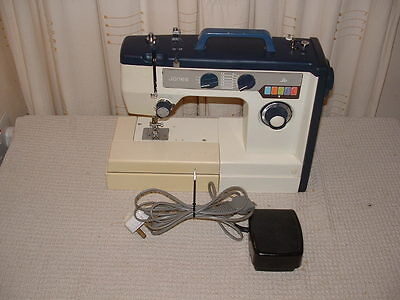jones zig zag sewing machine manual
