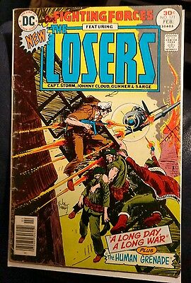 Our Fighting Forces #171 1977 Losers  VG-  Kubert   DC Vintage war comic!