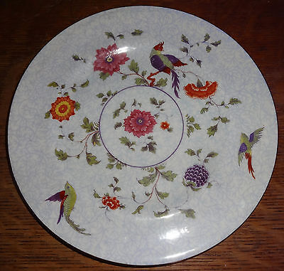 "Crown Staffordshire Bird of Paradise  8-1/4"" Plate 6 Available"