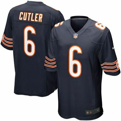 Chicago Bears Jersey Jay Cutler #6 Nike Youth Game Replica NFL Navy