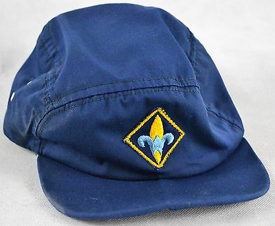 Boy Scouts of America BSA Fitted Cap Hat Vintage! No Tags...Good Condition!