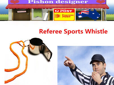Metal Sports Whistle Referee Indoor Trainning Outdoor Match Camping Emergency