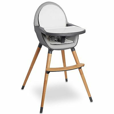 Skip Hop® Tuo Convertible High Chair in Charcoal Grey New in Box