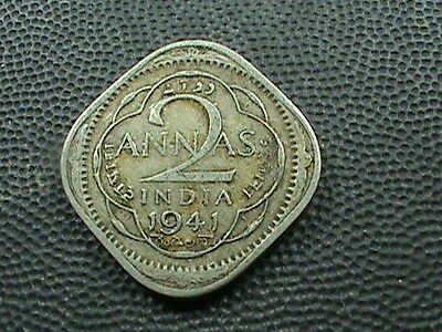 INDIA  -  BRITISH    2  Annas    1941  -  B