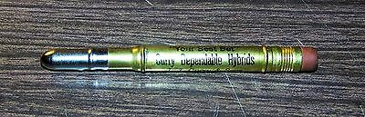 J. J. Curry & Sons, Elk Point, South Dakota Adverting Bullet Pencil