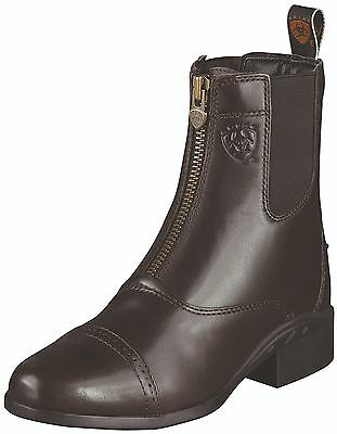 ARIAT - Women's Heritage III Zip Paddock - Chocolate - (10000798)  - NEW