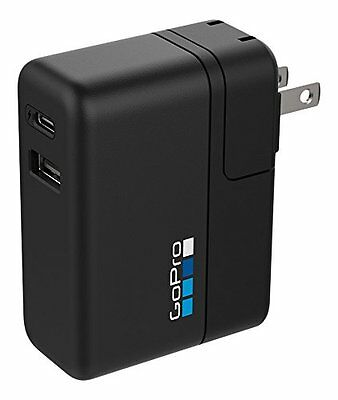 GoPro Supercharger International Dual-Port Charger GoPro Official Accessory NIB