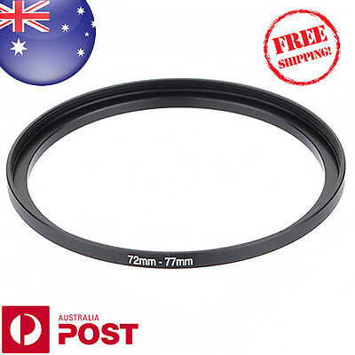 New 72-77mm 72mm-77mm Metal Step Up Lens Filter Ring Adapter - Z111-F