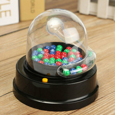 Electric Lucky Number Mini Lottery Bingo Games  Shake Lucky Ball Picking Machine